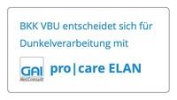BKK VBU stärkt ihre Kundenorientierung mit Dunkelverarbeitung durch pro|care ELAN