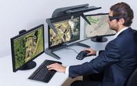 """Der neue 3D PluraView 24"""" Full-HD"""