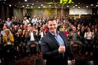 Christian Brink erfolgreich beim Internationalen Silent Speaker Slam