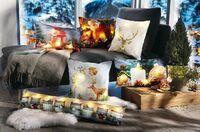 Weihnachten naht mit Glitzer und Sternen