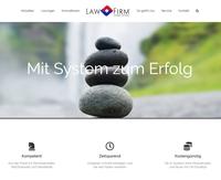 Neue Webseite zur Premium Anwaltssoftware LawFirm® ist online: www.kanzleirechner.de