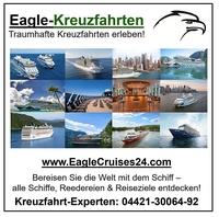 Kreuzfahrt-Angebote auf www.EagleCruises24.com buchen!