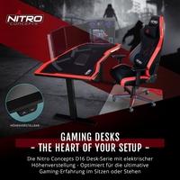 BRANDNEU bei Caseking - The Heart of Your Setup: Nitro Concepts D16 Gaming-Tische