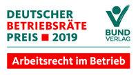 Deutscher Betriebsräte-Preis 2019 verliehen