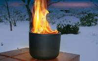 Feuer und Eis: Wenn Flammen den Garten verzaubern