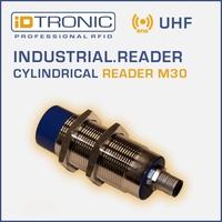 iDTRONICs RFID BLUEBOX Micro IA | Cylindrical Reader M30