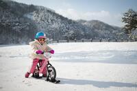 Winter-Fahrspaß für Kids mit dem Strider Snow Ski-Set