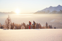 Wandern im Winter-Wunderland - Verbraucherinformation der ERGO Reiseversicherung