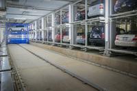 STOPA realisierte 67 vollautomatische Parkplätze auf engstem Raum