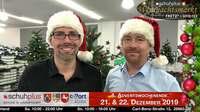Outtakes TV-Spot-Produktion für ProSieben, SAT.1 und Kabel 1 zum schuhplus Weihnachtsmarkt am 21.12. und 22.12. am c-Port Sedelsberg