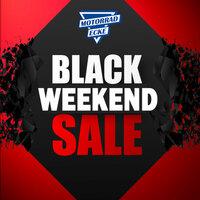 Der Ausverkauf des Jahres - BLACK WEEKEND SALE bei der Motorrad-Ecke