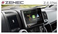 Extra großes Display: Z-E3766 - ZENECs Navi für Fiat Ducato