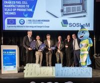 "FCH JU Awards 2019 - Europäischer Innovationspreis für bahnbrechende Projektarbeit ""SOSLeM"""