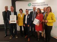 """Handelsverband Baden-Württemberg verleiht den ersten Platz des Stadtmarketing-Preises an Biberach für die """"BiberCard"""" mit """"Dein-Biberach.de"""""""