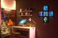 Pixel-Art LED-Bilderrahmen von Divoom zu Weihnachten