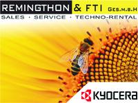 Aktiver Umweltschutz, Drucker von Kyocera - Remingthon & FTI GmbH informiert
