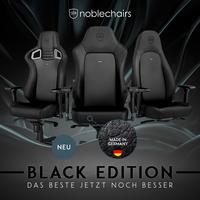 BRANDNEU bei Caseking: Die noblechairs Black Edition - Die Krönung der Erfolgsmodelle!