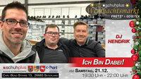 DJ Hendrik unterstützt den ersten schuhplus - Weihnachtsmarkt in Sedelsberg musikalisch