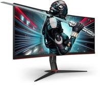 """Völlig eintauchen mit den 34""""-UltraWide-Curved-Gaming-Monitoren CU34G2 und CU34G2X von AOC"""