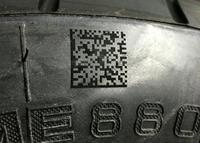Vom Rohgummi bis zum versandfertigen Reifen - alles verlässlich beschriftet