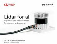 OUSTER Multi-Beam Flash LiDAR