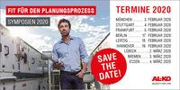 Save the Date! AL-KO Symposienreihe 2020