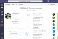 STARFACE Integration für Microsoft Teams