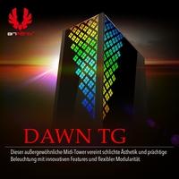 BRANDNEU bei Caseking: BitFenix Dawn TG - der Midi-Tower mit Sonnaufgang-Feeling