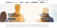 Würth Leasing Webseite gewinnt German Design Award 2020