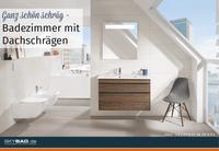 Ganz schön schräg - Badezimmer mit Dachschrägen