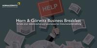 Horn & Görwitz Business Breakfast