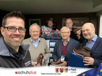 schuhplus und Gore Tex spenden Schuhe von FretzMen an Wohnungslose in Cloppenburg