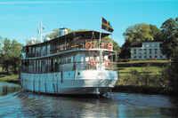 Beschwingt über den Göta-Kanal: Jazzreise mit dem ältesten Kreuzfahrtschiff der Welt