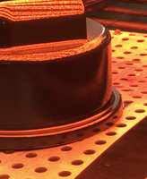 Pulver in Pulver - Infrarot-Strahler halbieren die Härtungszeit