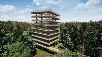 Baubeginn am Baumwipfelpfad Usedom