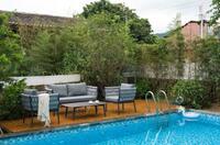 Outdoor-Möbel im modischen Riviera-Chic