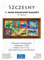 Ausstellung von Stefan Szczesny in Saint Lucia