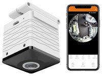 7links 360°-Panorama-HD-Überwachungskamera IPC-515.wide