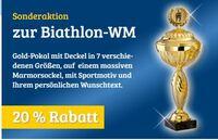 Sonderaktion zur Biathlon-WM