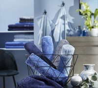 Heimtextilien und Homewear in Classic Blue bei erwinmueller.de