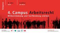 4. Campus Arbeitsrecht -  26. März 2020 in Frankfurt