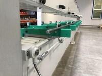 In den Produktionsprozess integrierte Geradheitsmessung