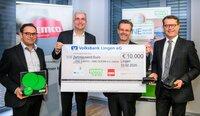 10.000 Euro für den gemeinsamen Kampf gegen Plastikmüll