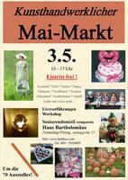 Kunsthandwerklicher Mai-Markt in Zorneding 3.5.20