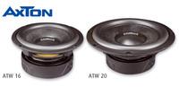 Schneller Bassausbau: AXTONs Woofer ATW16 und ATW20