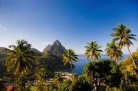 """""""Hin und weg"""" von Saint Lucia"""