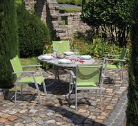 Bei der Gestaltung von Außenbereichen auf Nachhaltigkeit achten.