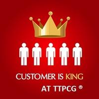 Das TTPCG ® Team strebt nach maximaler Kundenzufriedenheit