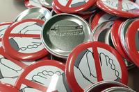 Corona-Prävention durch No-Handshake Buttons