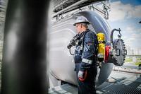 Arbeiten als Sicherungsposten in der Industrie